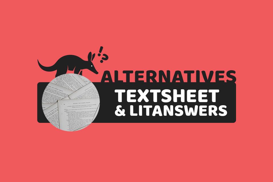 Best Textsheet & Litanswers Alternatives